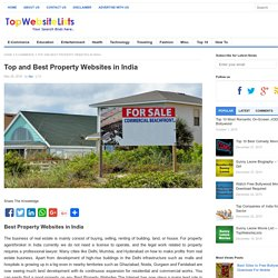 Top and Best Property Websites in India