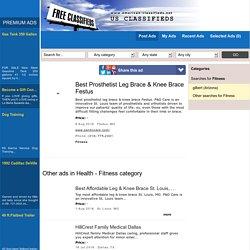 Best Prosthetist Leg Brace & Knee Brace Festus