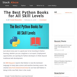 The Best Python Books for All Skill Levels