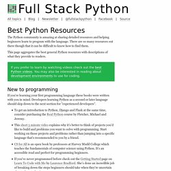 Best Python Resources