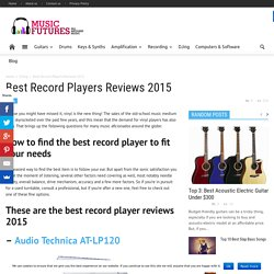 Best Record Players Reviews 2015