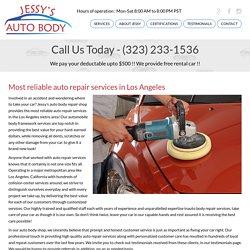 Best Auto body Repair Shop in Torrance, Los Angeles