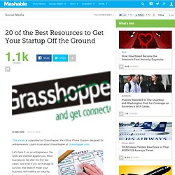 20 of the Best Resources to Get Your Startup Off the Ground