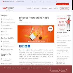10 Best Restaurant Apps UK [Find Your Favourites]
