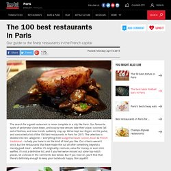 The 100 best restaurants in Paris – Time Out Paris