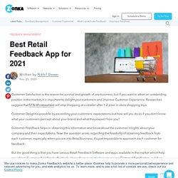 Best Retail Feedback App for 2021