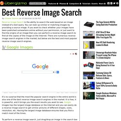 Best Reverse Image Search
