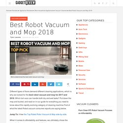 Best Robot Vacuum Review for 2017
