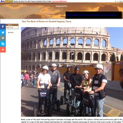See The Best of Rome on Guided Segway Tours