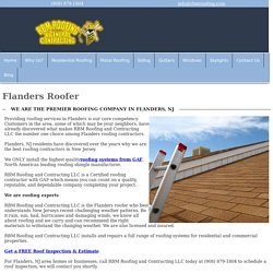 Best Roofer Company in Flanders