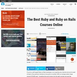 The Best Ruby and Ruby on Rails Courses Online