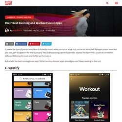 The 7 Best Running and Workout Music Apps