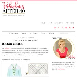 Best Sales This Week - Fabulous After 40