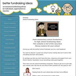 The Best School Fundraising Ideas
