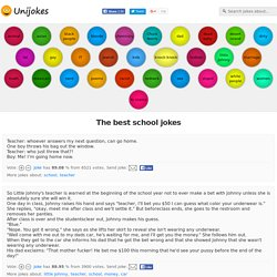 Best school jokes ever - Unijokes.com - 331 School jokes