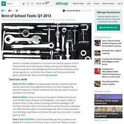 Best of School Tools: Q1 2013