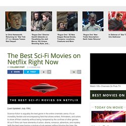 Best Sci-Fi Movies on Netflix