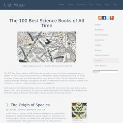 The 100 Best Science Books of All Time - Listmuse.com