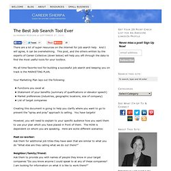 The Best Job Search Tool Ever