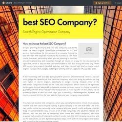 best SEO Company?