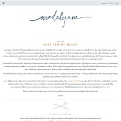 Best Sewing Blogs - Madalynne - A Sewing Blog