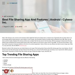 Best File Sharing App And Features