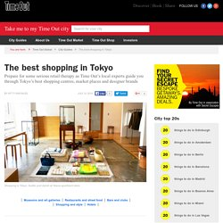 Best shopping in Tokyo