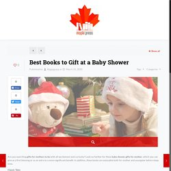 Best baby shower books to gift - Maple Press
