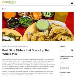 Best Side Dishes that Spice Up the Whole Meal