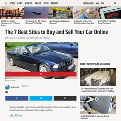 The 7 Best Sites to Buy and Sell Your Car Online