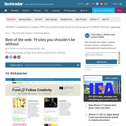 Best of the web: 19 sites you shouldn't be without: Page 4
