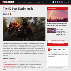 The 10 best Skyrim mods so far
