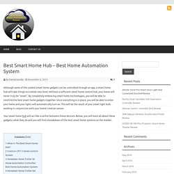 Best Smart Home Hub – Best Home Automation System – Best Smart Home System