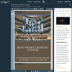 Best Smart Lighting Systems
