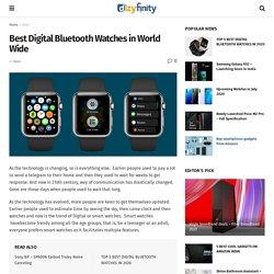 Best Smartwatches in 2020 - Top 5 Smartwatches in World Wide