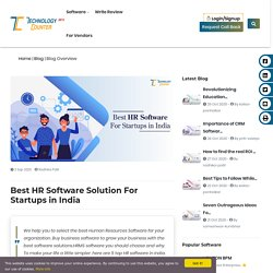 Best HR Software For Business in India
