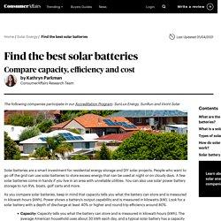 Best Solar Batteries of 2021