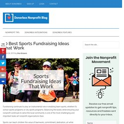 10 Best Sports Fundraising Ideas That Work
