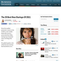 20 best startups of 2011