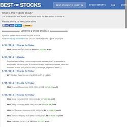 Best Stocks to Invest In