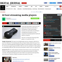 10 best streaming media players