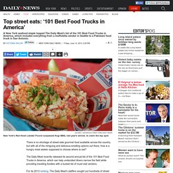 Top street eats: '101 Best Food Trucks in America'