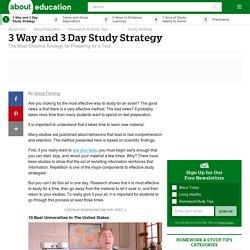 Best Study Strategy
