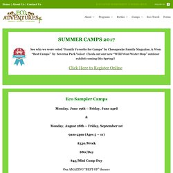 Best Summer Camp For Kids MD - Summer Camps for kids in Maryland