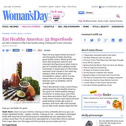Healthy Diet Tips – Discover The Foods Behind a Healthy Diet at WomansDay.com