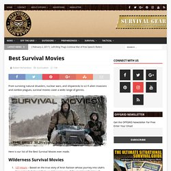 Best Survival Movies