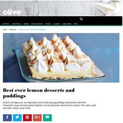 Best ever sweet lemon recipes - olive