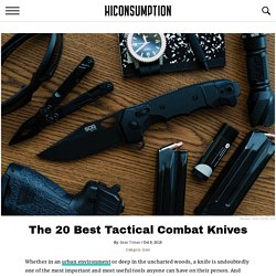 20 Best Tactical Combat Knives of 2019