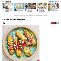 Best Taquito Recipe - How to Make Taquitos