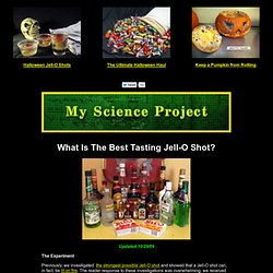 Best Tasting Jell-O Shot Recipes